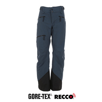 Peak Performance TETON GTX - Pantalón de esquí mujer blue steel