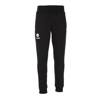 Hummel FIT - Pantaloni tuta Uomo nero/bianco