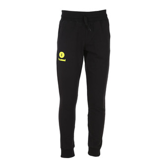 Pantalon jogging homme FIT black/safety yellow