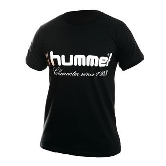 Camiseta hombre UH negro/blanco