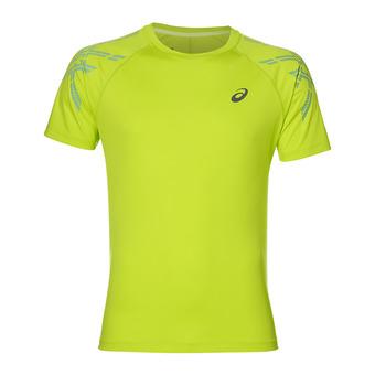 Camiseta hombre STRIPE energy green