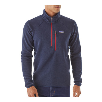 Sweat polaire 1/4 zip homme PERFORMANCE BETTER navy blue