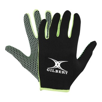 Gilbert ATOMIC - Guantes black/green