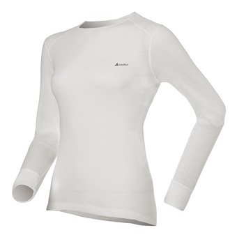 Odlo ACTIVE ORIGINALS WARM - Sous-couche Femme white