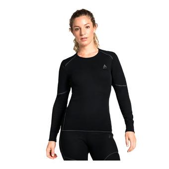 Odlo ACTIVE X-WARM - Camiseta térmica mujer black
