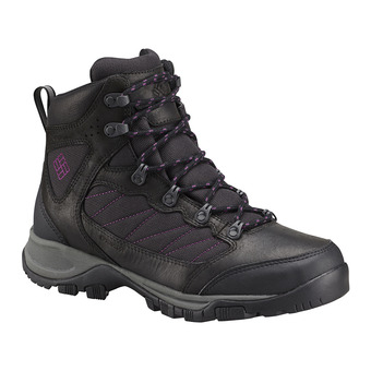 Zapatillas mujer CASCADE PASS™ black/intense purple