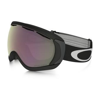 Oakley CANOPY - Gafas de esquí matte black/prizm hi pink iridium