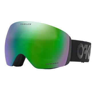 Oakley FLIGHT DECK - Gafas de esquí factory pilot blackout/prizm jade iridium