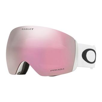Oakley FLIGHT DECK - Masque ski matte white/prizm hi pink iridium