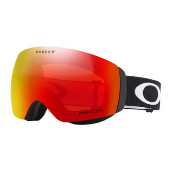 Oakley FLIGHT DECK XM - Gafas de esquí matte black/prizm torch iridium