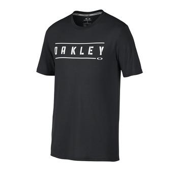 Camiseta hombre O DOUBLE STACK blackout