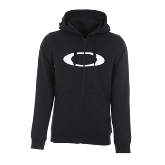 Sweat à capuche zippé homme DWR ELLIPSE FZ blackout