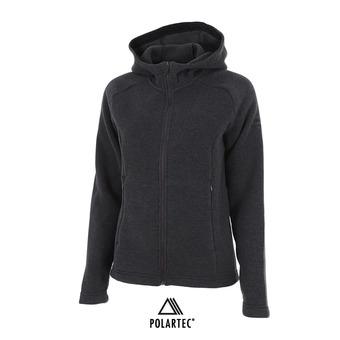 Veste polaire à capuche Polartec® femme MISSION raven