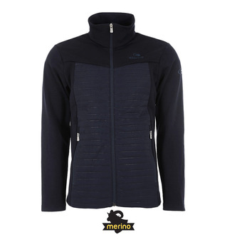 Veste hybride homme ALPINE MEADOWS dark night