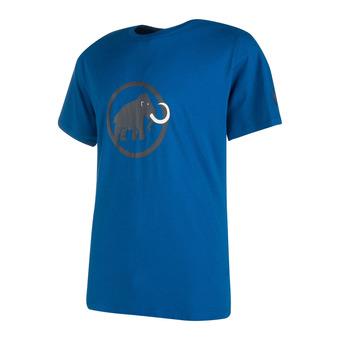 Tee-shirt MC homme MAMMUT LOGO ultramarine
