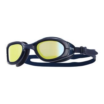 Gafas de natación polarizadas SPECIAL OPS 2.0 navy/gold-navy