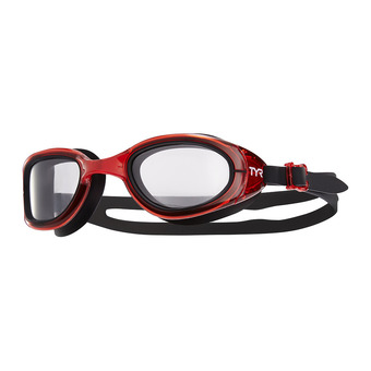 Tyr SPECIAL OPS 2.0 TRANSITION - Gafas de natación fotocromáticas clear/red/black