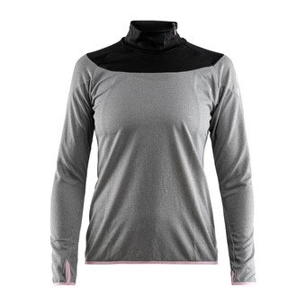 Camiseta mujer BLAZE anthra/negro