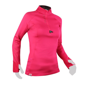 Raidlight WINTERTRAIL - Maglia Donna raspberry