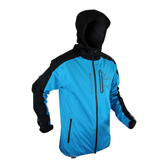 Veste à capuche homme RAIDSHELL electric blue/black