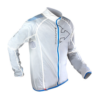 Chaqueta hombre HYPERLIGHT WINDPROOF white/electric blue