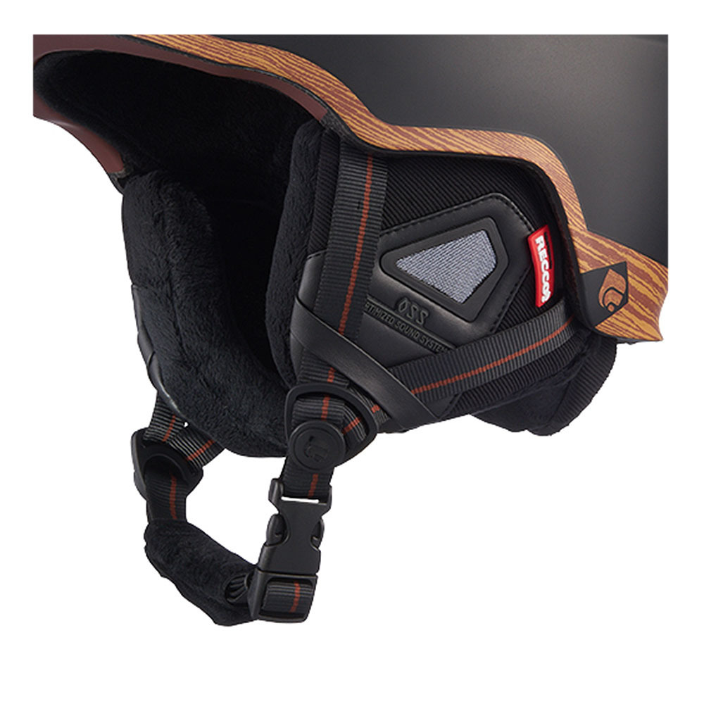 Casco Da Sci Centaure Rescue Mat Black Wood Private