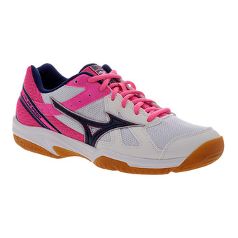 Zapatillas indoor mujer CYCLNE SPEED white/blueprint/pink glo