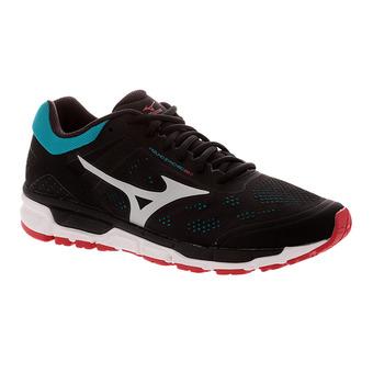 Zapatillas de running hombre SYNCHRO MX 2 black/silver/tile blue