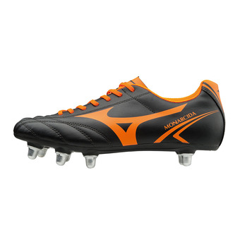 Botas de rugby hombre MONARCIDA RUGBY SI black/orange cfish