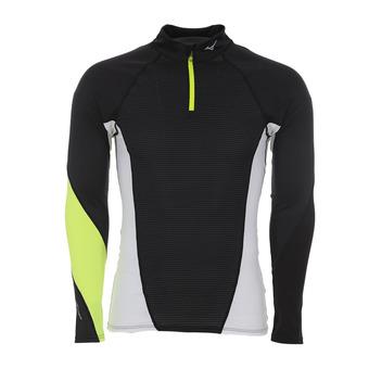 Camiseta hombre VIRTUAL BODY G1 black/safety yellow
