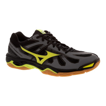 Chaussures indoor homme WAVE PHANTOM steel grey/safety yellow/black