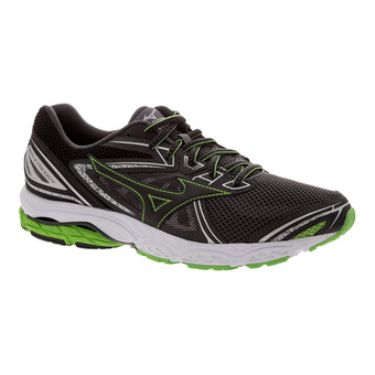 Zapatillas de running hombre WAVE PRODIGY dark shadow/black/ j green