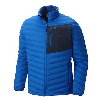 Mountain Hardwear STRETCHDOWN - Anorak hombre altitude blue
