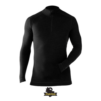 Men's Merino 250 Baselayer 1/4 Zip HOMME BLACK