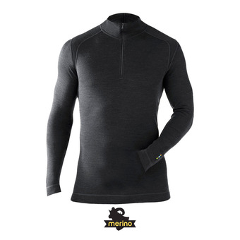 Men's Merino 250 Baselayer 1/4 Zip HOMME CHARCOAL