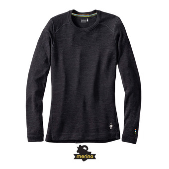 Smartwool MERINO 250 CREW - Camiseta térmica mujer charcoal heather