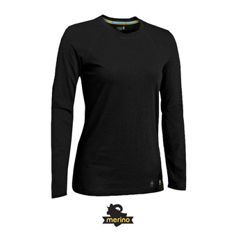 Women's Merino 150 Baselayer Long Sleeve FEMME BLACK