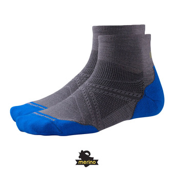 Calcetines hombre PHD RUN LIGHT ELITE MINI graphite/bright Blue