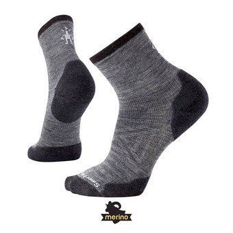 Smartwool PHD RUN COLD WEATHER CREW - Calcetines medium gray