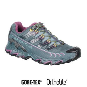 Zapatillas de trail mujer ULTRA RAPTOR GTX slate/purple