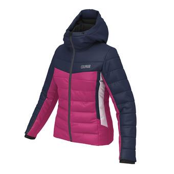 Chaqueta de esquí mujer COUCHEVEL 1850 rosa azul