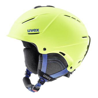 Casco de esquí P1US 2.0 lime mat