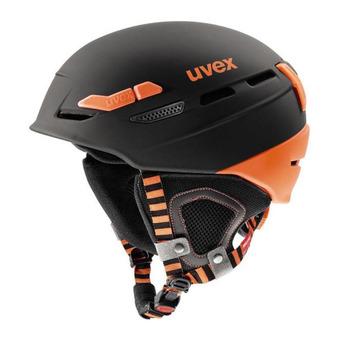 Casque de ski P.8000 TOUR black-orange mat