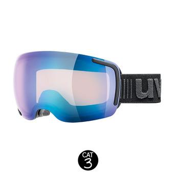 Masque de ski BIG 40 VFM black mat/mirror blue variomatic® clear