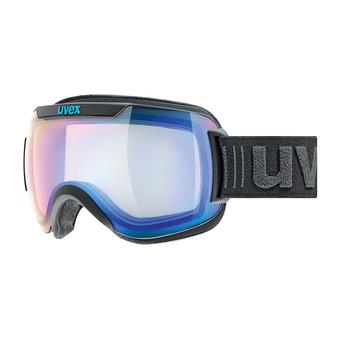 Gafas de esquí DOWNHILL 2000 VFM black mat/mirror blue variomatic® clear