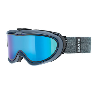 Masque de ski COMANCHE TO navy mat/mirror blue-lasergold lite clear