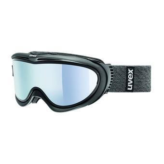 Masque de ski COMANCHE TO black mat/mirror silver-lasergold lite clear