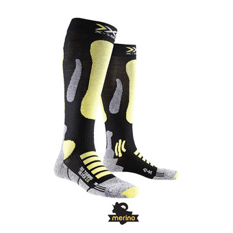 X-Socks TOURING 2.0 - Calcetines negro/amarillo