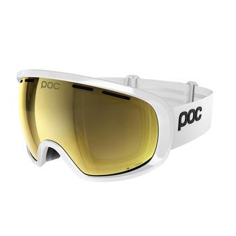 Poc FOVEA CLARITY - Maschera da sci hydrogen white/spektris gold