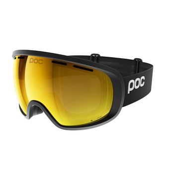 Poc FOVEA CLARITY - Gafas de esquí uranium black/spektris orange